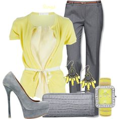 """""""Belted Blouse"""" by roxyd on Polyvore"""
