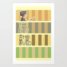 The Boy Who Lived Art Print by HYRenee - $15.00