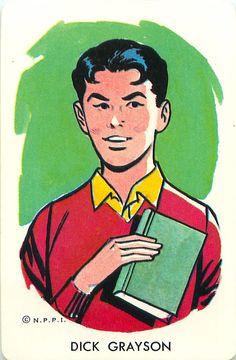 Dick Grayson   (Robin)  #Robin #theboywonder #DickGrayson