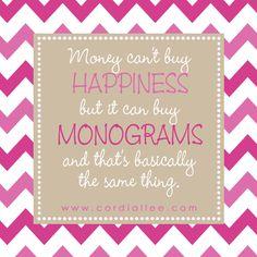 Monogram Quotes on Pinterest