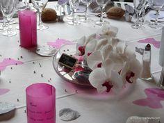 deco table on manzanita branches aquarium decorations and silk flowers