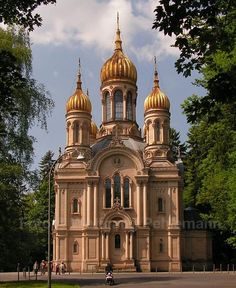 favorit place, orthodox church, vacat, churches, wiesbaden germani, germany, aunts, homes, fields