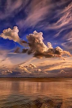 Delightful Cloud Patterns in the Sky