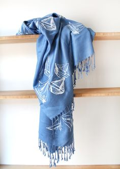 Sailboat Scarf.