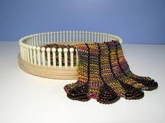 """round knitting """"loom""""..and yes you can switch the color's easy."""