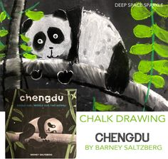 Chengdu by Barney Saltzberg, art lesson by Deep Space Sparkle