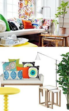 brights on white--get the look