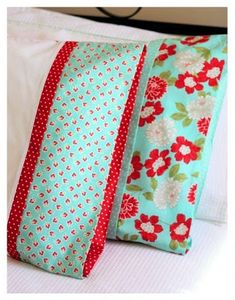 Patterned Pillow Case Tutorial