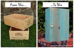 Number Fifty-Three: DIY Wine Crate Cabinet