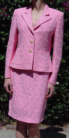 Escada Couture suit, size 4/6