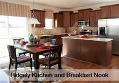 Ridgely Kitchen and Breakfast Nook by Lennar