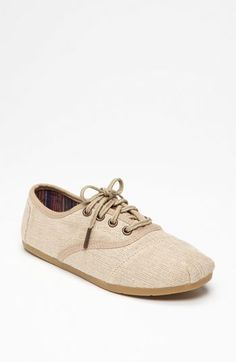 TOMS 'Paxton' Cordones Sneaker (Women) available at #Nordstrom    $73.95