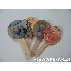 DIY Japanese Hand Fan Swap
