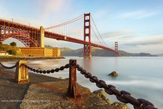 Suspensions - Golden Gate Bridge, San Francisco, California by PatrickSmithPhotography, via Flickr