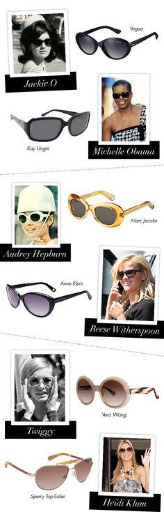 Eyewear Style Icons