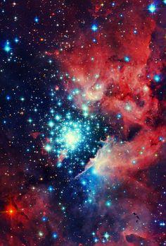 NGC 3603 Witch Head Nebula.