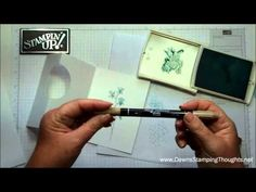 Happy Watercolor & Fringe Scissors card with Dawn - YouTube