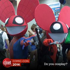 Who would you dress up as at Comic-Con? #ComicCon2014