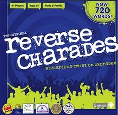 Reverse Charades a team version of the classic game of charades.  Great for working on group skills and understanding body language & nonverbal communication.