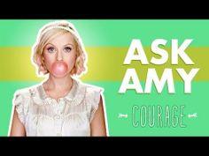 Courage: Ask Amy - YouTube #inspiration #edchat #mindset