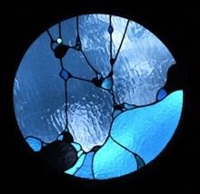 glass window, stain glass, abstract stained glass