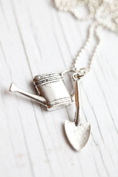 Gardening tools Necklace for Mother's day