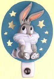 baby looney tunes for the nursery lamp   WishlistCafe - Kids Stuff – Nursery Decor – Night Lights   Home ...