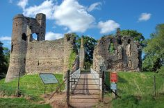 Grosmont Castle- Lady Joan Plantagenet, Baroness de Mowbray born here 1310 english castl, castlescathedralschurch manor