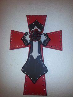 Handmade Western Cross