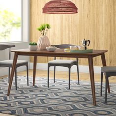 Waltman Dining Table & Reviews | AllModern