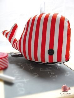 Dorotea the Whale: soft toy