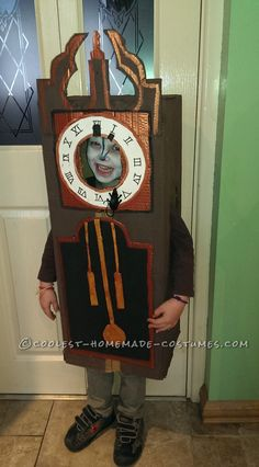 Hickory Dickory Dock Nursery Rhyme Costume... 2014 Halloween Costume Contest