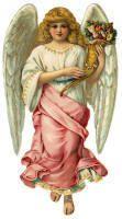 scrapbooking, fairies, vintag angel, vintage, art, pink, white angel, angels, cards