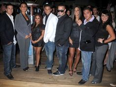 Jersey Shore cast rings the bell!