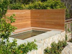 Modern Horizontal Fence Idea.