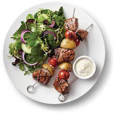 Kraft Anything Dressing : Ranch-Style Steak Kabobs recipe #kraftrecipes
