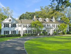 Classic 1930 Center Hall Colonial in Prestigious Deer Park (Greenwich, Connecticut | New England Land Company)