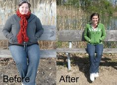Amazing 115-lb weight loss. Read the story of how she did it (no surgery, no pills, no gimmicks!)
