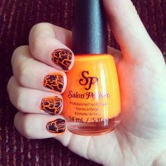 orange glowing