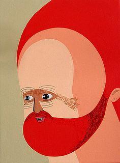 Red head by Matthew Feyld