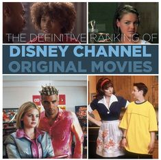 Hahahahahahahaha The Definitive Ranking Of Disney Channel Original Movies. this is hilarious. and so true.....