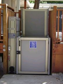Wheelchair lifts elevators on pinterest wheelchairs for Garaventa lift