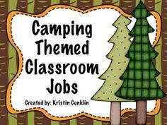 Camping Classroom Jobs LOVE!!