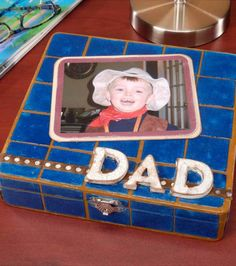 Father's Day Gift | Tiled Box Idea from Joann.com