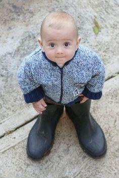big black boots...how I really look...