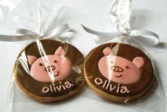 Animal Circle Cookies