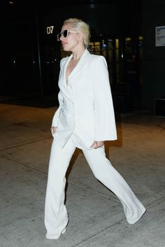 Lady Gaga in white s