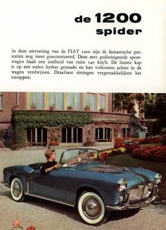 Fiat 1200 Spider