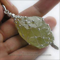 Anna Mroczek - Exclusive Jewelry: Raw stones