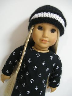 American Girl Doll Clothes Ahoy  by 123MULBERRYSTREET on Etsy, $26.00